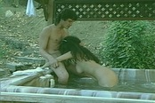 Two Hairy Asian Pussies Are Licked And Fucked To Orgasm