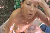 Mature Slut Inci Smacked So Hard Outdoor