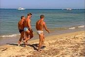 Sexy Beefcakes Fucking on the Beach