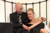 Older Man And Younger Lover Get it On