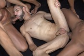 Volleyball Game Turns into Steamy Six Tranny Gangbang!