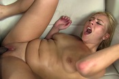 Thick Blonde Gets Pounded By Huge Black Dick