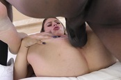 A Very Sexy Teen Babe Gets Her Some Big Black Dick